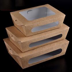 BioWare 200 Piece Paper Box Double Window 1775ml