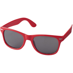 Sunray Retro-Looking Sunglasses, Red-5x14.5x15cm