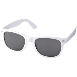 Sunray Retro-Looking Sunglasses, White -5x14.5x15cm