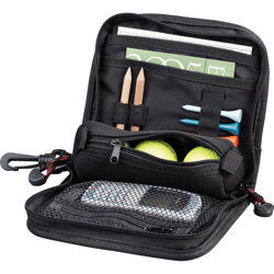 Triton Golf Valuables Pouch-Black