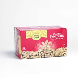 Best Salted Peanuts Pouch 30gm (1x12Pcs)