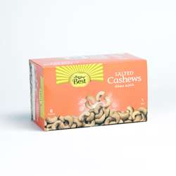Best Salted Cashews Pouch 50gm (1x6Pcs)