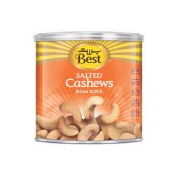 Best Salted Cashews Can 275gm