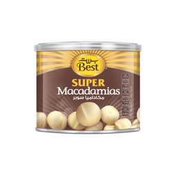Best Super Macadamias Can 110gm