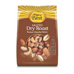 Best Salted Dry Roast Bag 375gm