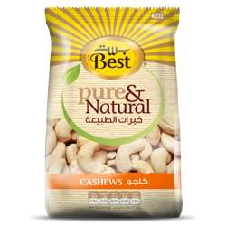 Best Pure & Natural Cashews Bag 325gm