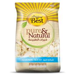 Best Pure & Natural Almonds Sliced Bag 150gm