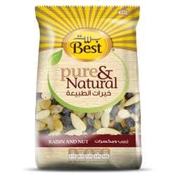 Best Pure & Natural Raisin & Nut Bag 350gm