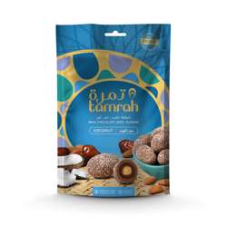 Tamrah Coconut Chocolate Zipper Bag 100gm
