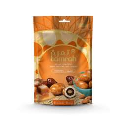 Tamrah Caramel Chocolate Zipper Bag 100gm