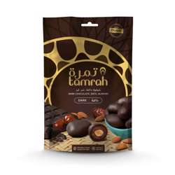 Tamrah Dark Chocolate Zipper Bag 100gm