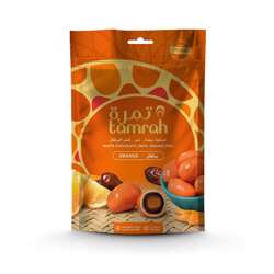 Tamrah Orange Chocolate Zipper Bag 100gm