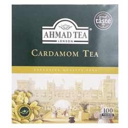 Ahmad Tea Cardamon Tea Tagged Tea Bags 100x2gm