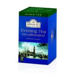 Ahmad Tea Evening Tea Decaffeinated Tea Bags 20x2gm