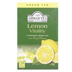 Ahmad Tea Lemon Vitality Tea Bags 20x2gm