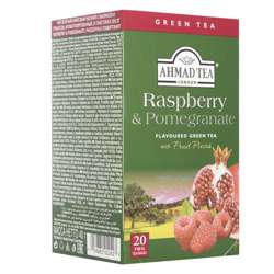 Ahmad Tea Raspberry & Pomegranate Tea Bags 20x2gm