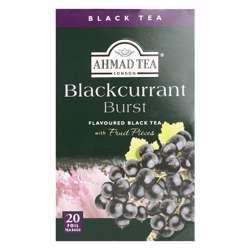 Ahmad Tea Blackurrant Burst Tea Bags 20x2gm