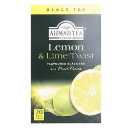 Ahmad Tea Lemon & Lime Twist Tea Bags 20x2gm
