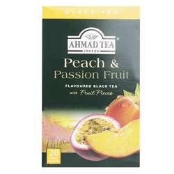Ahmad Tea Peach & Passion Fruit Tea Bags 20x2gm
