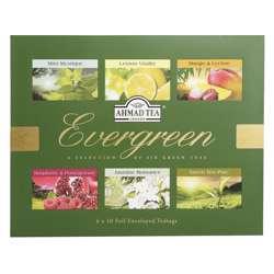Ahmad Tea Evergreen Aluminum Enveloped Tea Bags 10x2gm