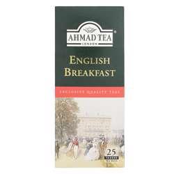 Ahmad Tea English Breakfast Tagged Tea Bags 25x2gm