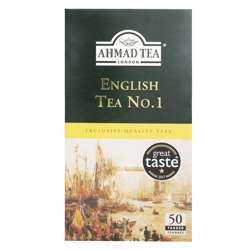 Ahmad Tea English Tea No1 Tagged Tea Bags 50x2gm