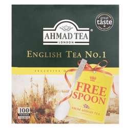 Ahmad Tea English Tea No1 Tagged Tea Bags 100x2gm