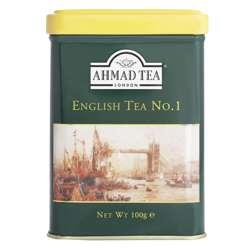 Ahmad Tea English Tea No 1 Loose Caddy 100gm