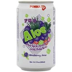 Pokka Aloe V Blueberry Drink 300ml