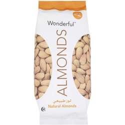 Wonderful Almonds Raw Natural 450gm