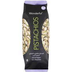 Wonderful Pistachios Salt & Pepper 220gm