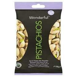 Wonderful Pistachios Salt & Pepper 115gm
