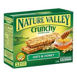 Nature Valley Oats And Honey Bars 252gm