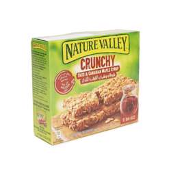 Nature Valley Canadian Maple Syrup Crunchy Bars 252gm
