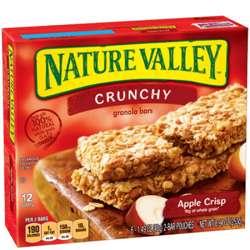 Nature Valley Apple Crisp Bars 252gm