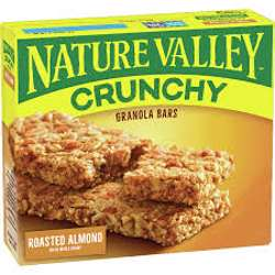 Nature Valley Roasted Almond Bars 252gm