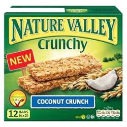 Nature Valley Coconut Crunchy Bars 252gm