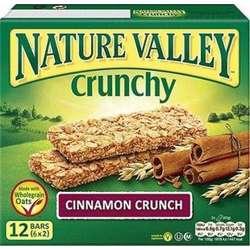 Nature Valley Cinnomon Crunch Bars 252gm