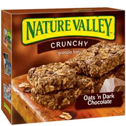 Nature Valley Oats And Chocolate Bars 210gm