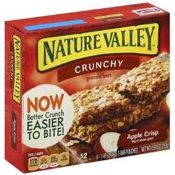 Nature Valley Apple Crisp Bars 756gm
