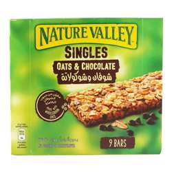 Nature Valley Oats & Choclate 9 Bars 189gm