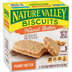 Nature Valley Biscuits Peanut Butter Bar 38gm