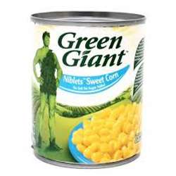 Green Giant Canned Niblets Corn No Salt No Sugar 198gm