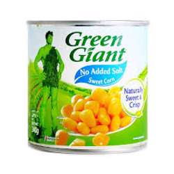 Green Giant Canned Niblets Corn No Salt No Sugar 340gm