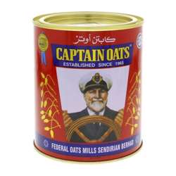Captain Oats Tin 500gm