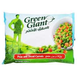 Green Giant Frozen Peas & Diced Carrots 450gm