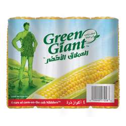 Green Giant Corn On The Cob 4 Ears 400gm