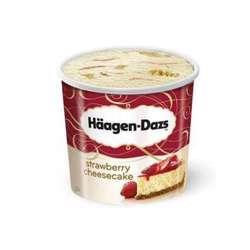Haagen Daz Minicup Strawberry Cheesecake Ice Cream 100ml