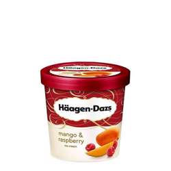 Haagen Daz Minicup Mango Raspberry Ice Cream 100ml