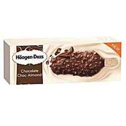 Haagen Daz Stick Bar Chocolate Choc Almond Ice Cream 70ml